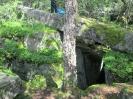 Die Felsenlandschaft von Thannkirch / Elsass